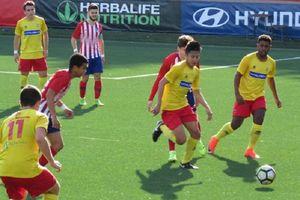 Setelah Melawan Atletico Madrid, Pemuda Indonesia Ini Cetak Gol ke Gawang Rayo Vallecano