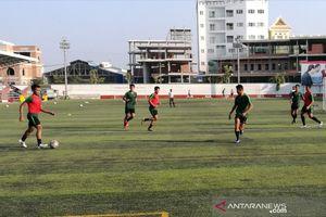 Timnas U-22 Indonesia Fokus Benahi Pertahanan Jelang Hadapi Kamboja