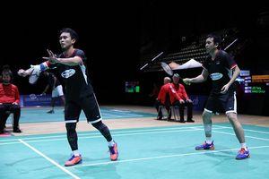 Hasil Badminton Asia Championships 2019 - Ahsan Hendra Menang Dalam Waktu 25 Menit Anthony Ginting Gagal Menangi Duel Sengit