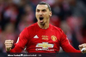 Bintang Manchester United Takut Mati Jika Zlatan Ibrahimovic Serius