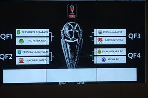 Guyonan Manajer Persebaya Soal Hasil Drawing 8 Besar Piala Presiden 2019