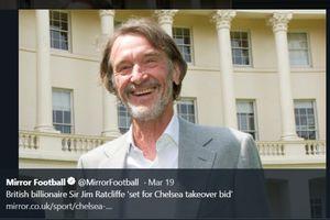 Jim Ratcliffe, Pengusaha Terkaya di Inggris yang Nyaris Miliki Manchester United