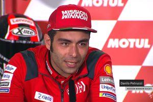 Danilo Petrucci Buka Suara Soal Pembalap yang Telah Mengubah MotoGP, Valentino Rossi?