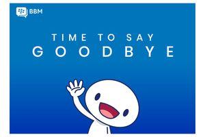 Ucapkan Selamat Tinggal, BBM Tutup Layanan Akhir Mei 2019