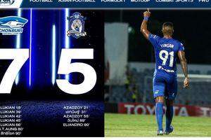 Banjir 12 Gol di Liga Thailand, Mantan Klub Peminat Evan Dimas Menang 7-5