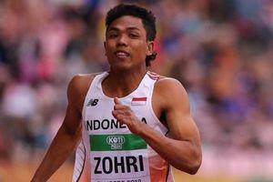 Lolos Olimpiade 2020, Zohri Menangis saat Hubungi Pelatih Terbaik Asia