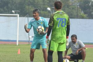Kesan dan Pesan Pelatih Persib Bandung untuk Gatot Prasetyo