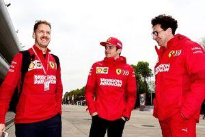 Bos Ferrari Klarifikasi Tudingan Tumbalkan Leclerc untuk Menangkan Vettel
