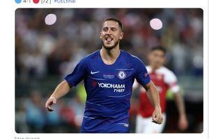 Chelsea Vs Tottenham Hotspur - Frank Lampard Sebut Uang Rp4,12 Triliun Tak Mampu Gantikan Eden Hazard