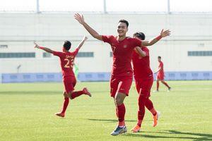 Susunan Pemain Timnas U-22 Indonesia Vs Iran - Satu Pilar Senior Diturunkan