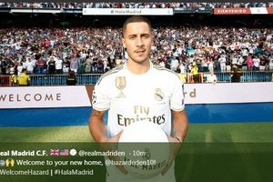 Eden Hazard Bakal Rebut Nomor Punggung Pemain Termahal Real Madrid