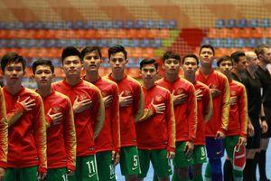 Piala Asia Futsal U-20 2019 - Indonesia Memimpin di Babak Pertama