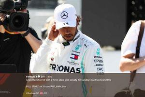 Lewis Hamilton Sudah Lebih dari Separuh Jalan Menuju Dilarang Balapan