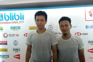 Indonesia Open 2019 - Ke Final, Inisiatif Jadi Kunci Ahsan/Hendra
