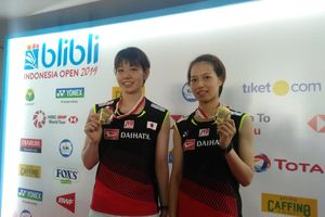 Pertahankan Gelar Indonesia Open 2019, Ini Kunci Ganda Putri Jepang