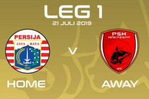 Link Live Streaming Final Piala Indonesia, Persija Vs PSM Makassar