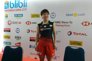 Bawa Emas Perdana Indonesia Open 2019,  Akane Yamaguchi Senang dengan Dukungan Istora