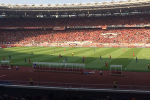 Gol Tunggal Ryuji Utomo Buat Persija Sementara di Atas Angin atas PSM di Final Piala Indonesia