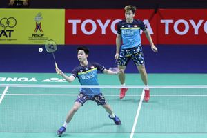 Hasil China Open 2019 - Marcus/Kevin Ditantang Rival yang Kandaskan Langkahnya di Kejuaraan Dunia 2019 Lalu