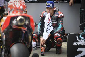MotoGP Aragon 2019 - Jaga-jaga Marquez Jatuh, Quartararo Incar Posisi Ke-2