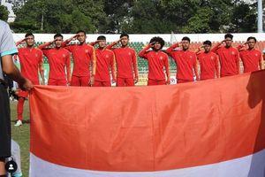 Timnas U-18 Indonesia Borong Gol ke Gawang Myanmar pada Babak Pertama Laga Piala AFF U-18 2019