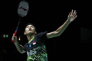 Hasil Kejuaraan Dunia 2019 - Jonatan Christie Gagal Balaskan Dendam Anthony Ginting