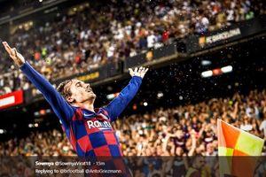 Kutukan Antoine Griezmann di Camp Nou Akhirnya Usai Sudah