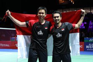 Kejuaraan Dunia 2019 - Ahsan/Hendra Persembahkan Gelar untuk Rakyat Indonesia