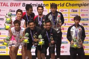 Gara-gara Ini, Ahsan/Hendra Dianggap Tak Serius Bertanding di Final Kejuaraan Dunia 2019