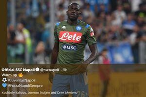 Tahan Salah Saat Jumpa  Liverpool, Koulibaly Dianggap Setara Van Dijk