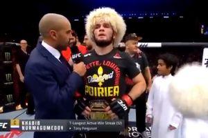 Jual Baju dari Fight UFC Kontra Poirier, Khabib Salurkan 1,4 miliar Rupiah ke Yayasan Amal