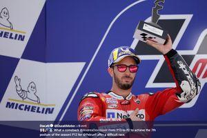 Dari 4 Seri Terakhir MotoGP 2019, Andrea Dovizioso Optimistis di GP Jepang