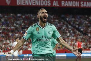 Hasil Liga Spanyol Pekan 5 - Menengok Kinclongnya Kepala Karim Benzema