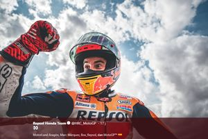 Komentar Marc Marquez Setelah Menangi MotoGP Aragon 2019: Yamaha Mana?