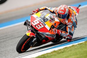 Marquez Menang di Motegi, Honda Selangkah Lagi Amankan Triple Crown