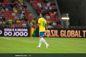 Brasil Vs Nigeria - Cedera ke-16 Neymar dalam 5 Tahun Terakhir