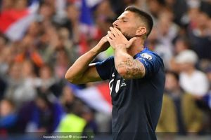 Link Live Streaming Perancis vs Moldova - Giroud Siap Bayar Kepercayaan Deschamps