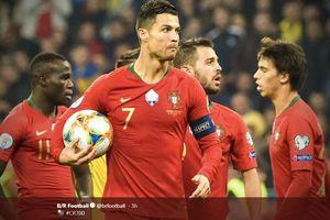 Cetak 700 Gol, Cristiano Ronaldo Jadi Bahan Perbincangan di Media Sosial