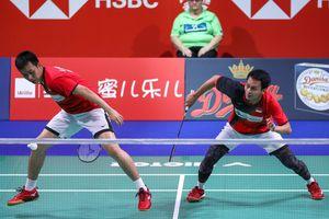 Denmark Open 2019 - Pertahanan Mohammad Ahsan yang Bikin Penonton Bersorak