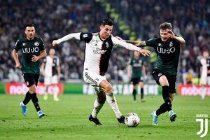 Juventus Vs Lokomotiv Moskwa - Ronaldo Sebut 4 Pemain Berpengaruh di Timnya