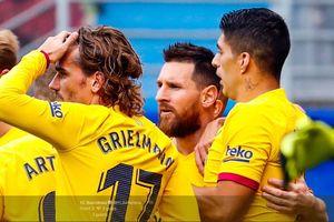 5 Fakta Kemenangan Barcelona atas Eibar - Berkibarnya Trio MSG