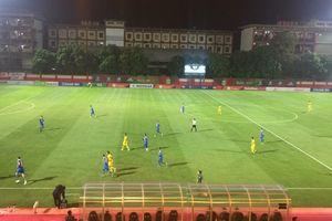 Babak Pertama, Bhayangkara FC dan Persib Bandung Sama Kuat