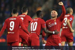 Dua Gol Si Anak Hilang Liverpool Samai Rekor Messi di Liga Champions