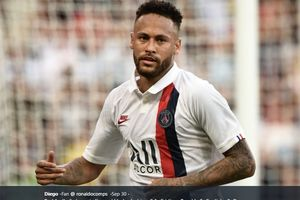 Sudah Fit, Neymar Siap Bela Paris Saint-Germain Lawan Real Madrid