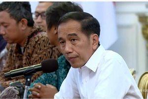 Wejangan Presiden Joko Widodo usai Bertemu Pengurus PSSI di Istana Negara