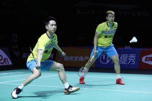 VIDEO - Lagi, Kevin Sanjaya Tunjukkan Tingkah Kocak di Hong Kong Open 2019