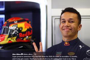 Red Bull Pastikan Pertahankan Alexander Albon Sampai Akhir Musim 2020
