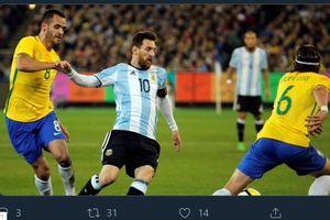 Link Live Streaming Argentina vs Brasil - Kembalinya Lionel Messi!