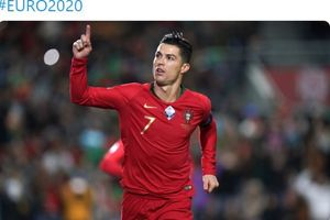 Kejar Gol Ke-100, Cristiano Ronaldo Belum Pernah Jebol Luksemburg Lebih dari Sekali