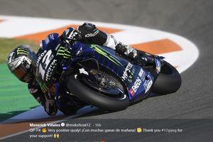 Beri Respon Pada Uji Coba Perdana MotoGP  Spanyol 2020, Maverick Vinales: Saya Terkejut!